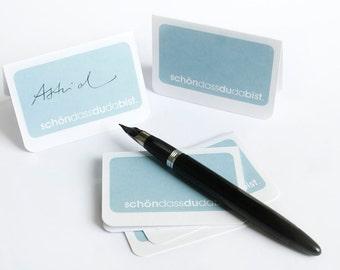 Simplistic Place Card (Set of 5)
