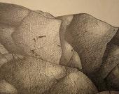 Rocks - Original ink drawing
