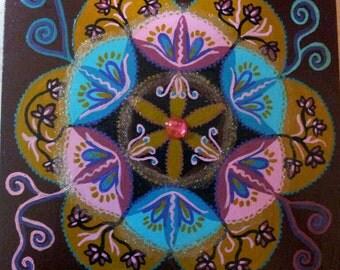 Indian Journey Mandala Original (10)