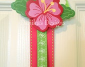 Hibiscus Mini Hair Bow Holder READY TO SHIP