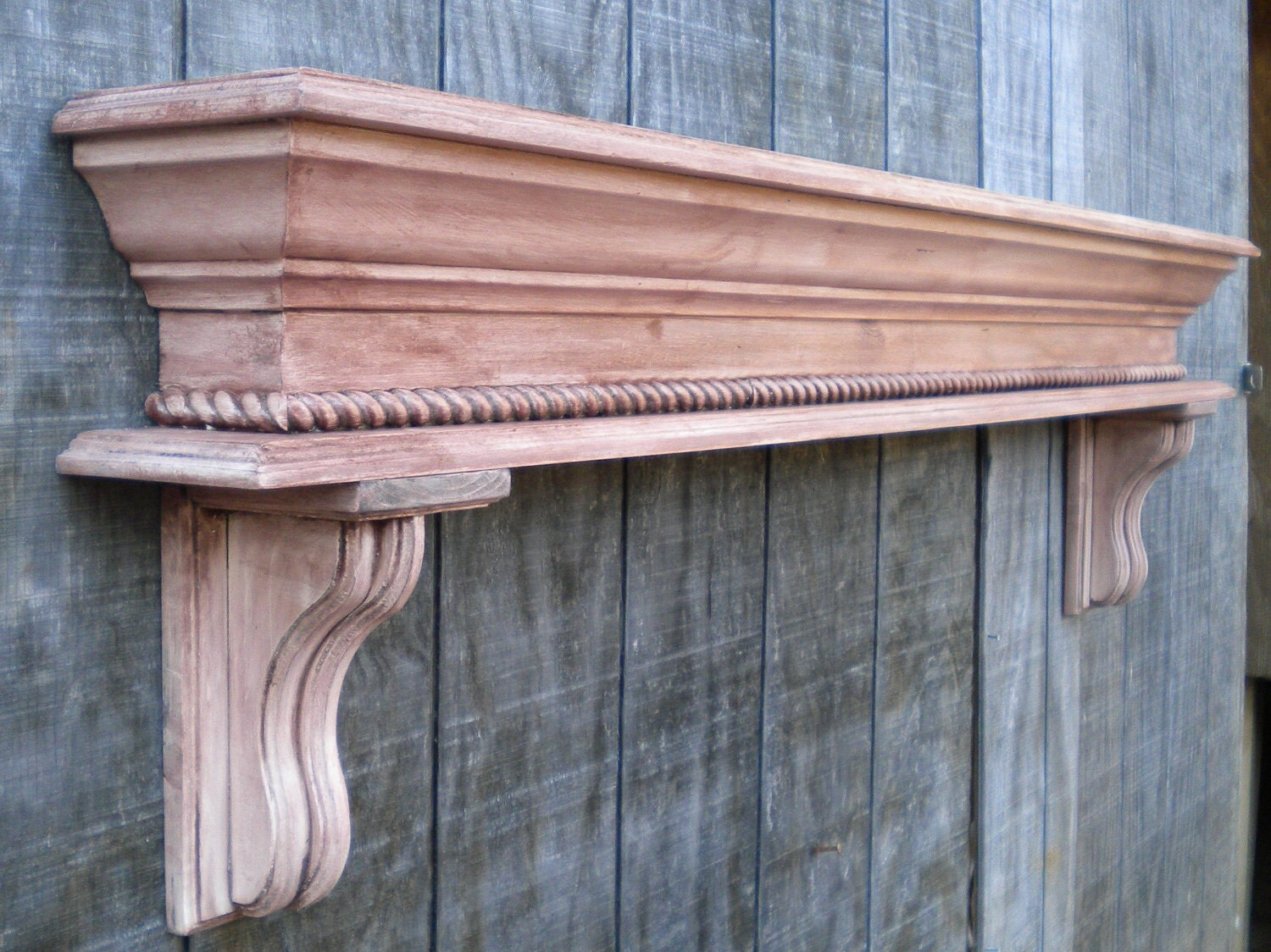 Fireplace Mantle Display Shelf By Rayscustomwoodwork On Etsy