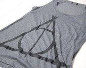 Harry Potter Deathly Hallows Tank - reserved for Tabetha Post
