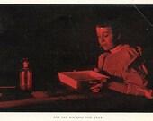 3 Vintage Book Prints-In the Darkroom-Very unique
