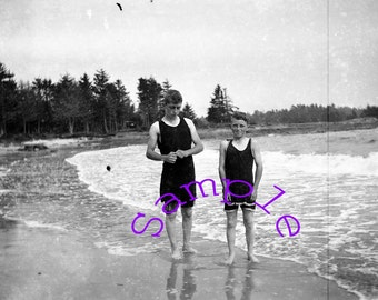 Digital Download-Boys At the Beach photo from my negatives