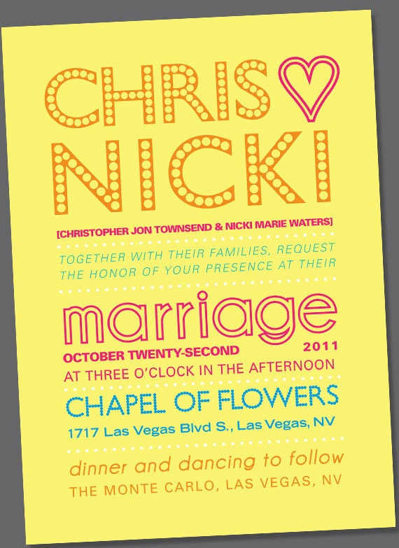Nicki Wedding Invite or Engagement Announcement Digital Download