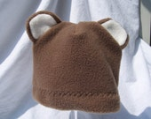 Baby Bear Fleece Hat