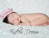Instant Download - PDF Princess Crown Pattern - Newborn - photo prop