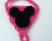 Instant Download - PDF Mouse Barefoot Sandals Crochet Pattern - 0 to 2T  - Baby Sandals