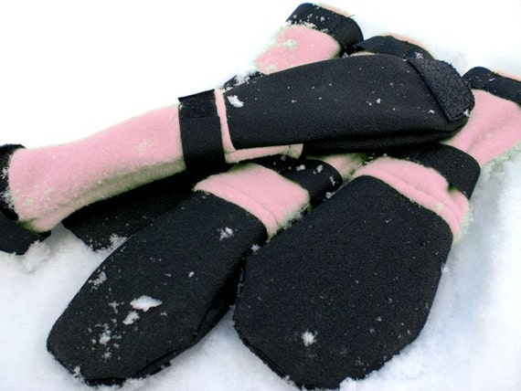 Toesties Winter Dog Boots: Opal
