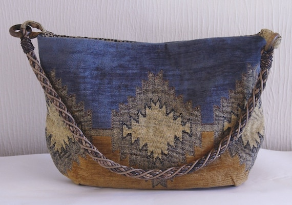 Blue Mesa Navajo inspired design hobo bag