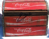 Vintage Coca Cola Trunk ( On Sale)
