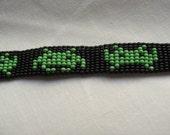 8 bit Space Invaders bracelet