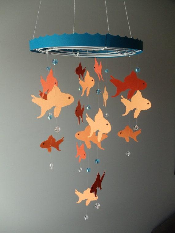 Custom Goldfish Mobile for Dana