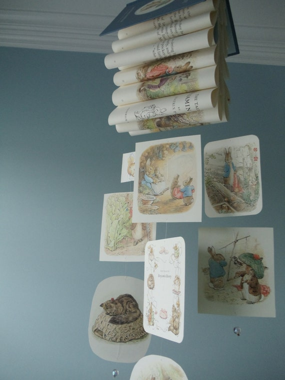 Beatrix Potter Book Mobile - The Tale of Benjamin Bunny