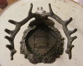 Buffalo Mountian Lodge vintage deer head with antlers