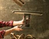 Lamp Lighting Industrial Light Chandelier Lighting Desk Lamp Cool Gifts for Men - Make-It-A-Lamp by Luke Lamp Co.