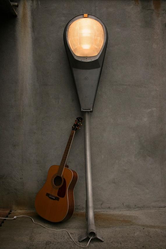 Items similar to industrial floor lamp industrial light for 7 foot tall floor lamp
