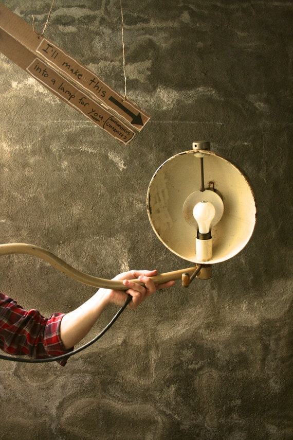 Items Similar To Lamp Lighting Industrial Light Chandelier
