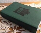 Owl Journal Pocket Sketch Book Pad