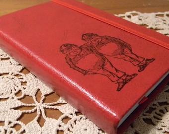 Tweedle Dee And Tweedle Dum Journal Sketch Book
