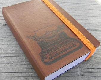 Typewriter Pocket Journal Sketch Book Pad