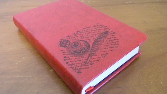 Feather Pen Writers Journal Sketch Book