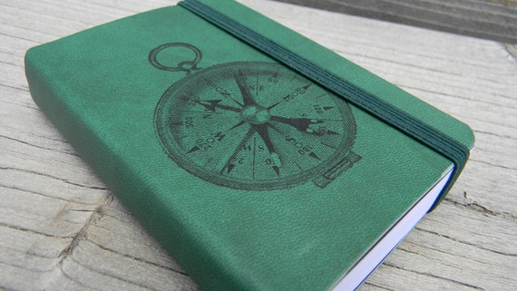 Compass Pocket Journal Sketch Book Pad