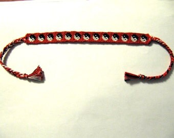 Yin Yang Friendship Bracelet