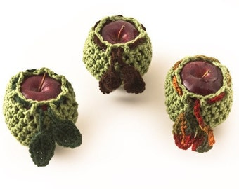 Fruit Cozy Trio, Granny Smith - US Shipping Included