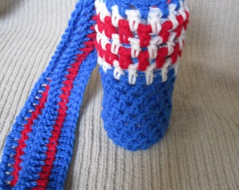 SALE Water Bottle Sling, 4th of July