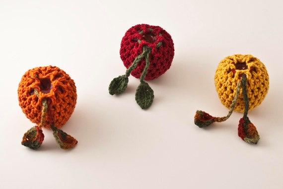 WHOLESALE Apple Cozies, 20 Pack - US Shipping Included - Made to Order, Custom, Color Choice - Treasury Featured Item