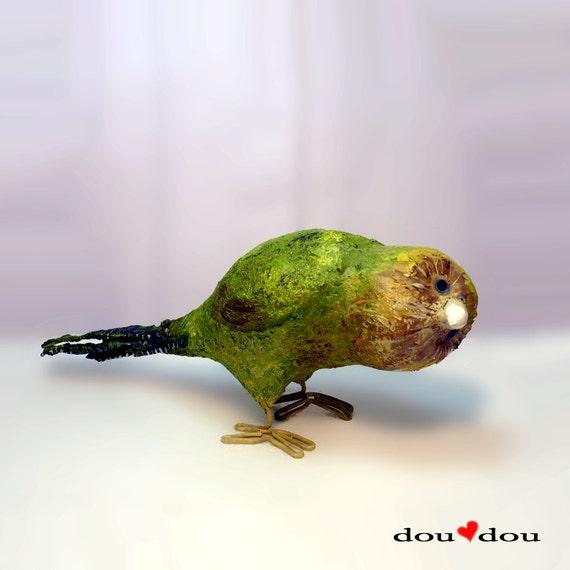 Kakapo - Bird Sculpture