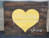 "Exclusive ""Shine"" Sign - The Shine Project"