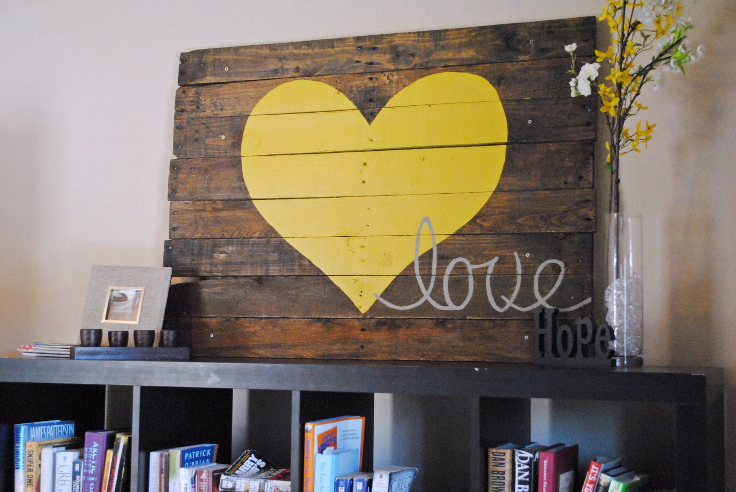 ... Reclaimed Wood Love Sign. 🔎zoom - Reclaimed Wood Love Sign
