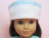 White Fleece Hat