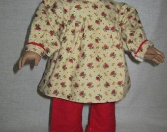 Flannel Jammies (Red Flower Jammies)