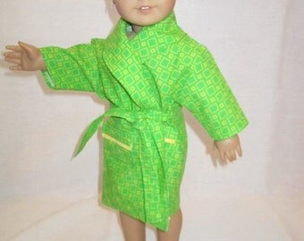 Green Bathrobe