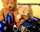 Custom Listing for Katina