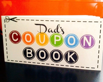 Coupon book | Etsy