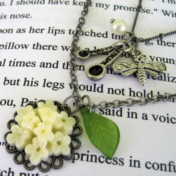Tiana Necklace - Floral