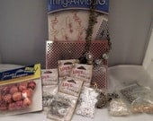 Lot of jewelry supplies