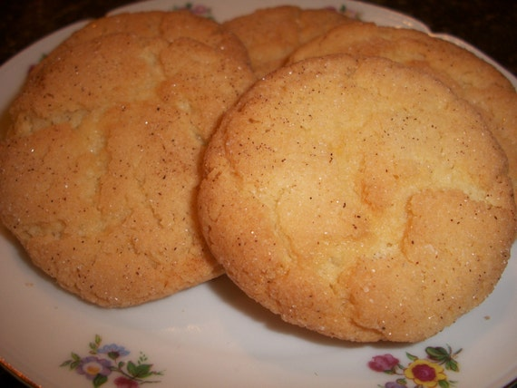 Snickerdoodle Cookies - Two Dozen Edibles Snacks Treats