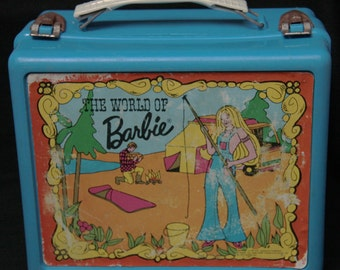 The World of Barbie lunch box