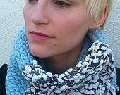 Winter Sky Knit Cowl