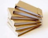 Mini matchbook notepads kraft handmade matchbook notepads mini jotters mini matchbook memo pads 1 dozen