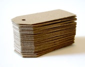 Mini kraft tags Price tags gift tags merchandise tags embellishments die cut 100 pieces