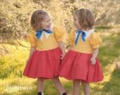 Tweedle Dee and Tweedle Dum Matching Dresses