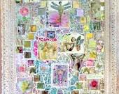 Butterfly Garden Glass Mosaic