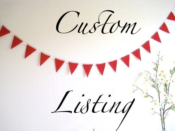 CUSTOM listing : 2 Blue and Violet Bunting Banners - 5.5 ft, blue and violet wedding bunting decoration