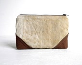 Recycled WWII Canvas Clutch Pouch